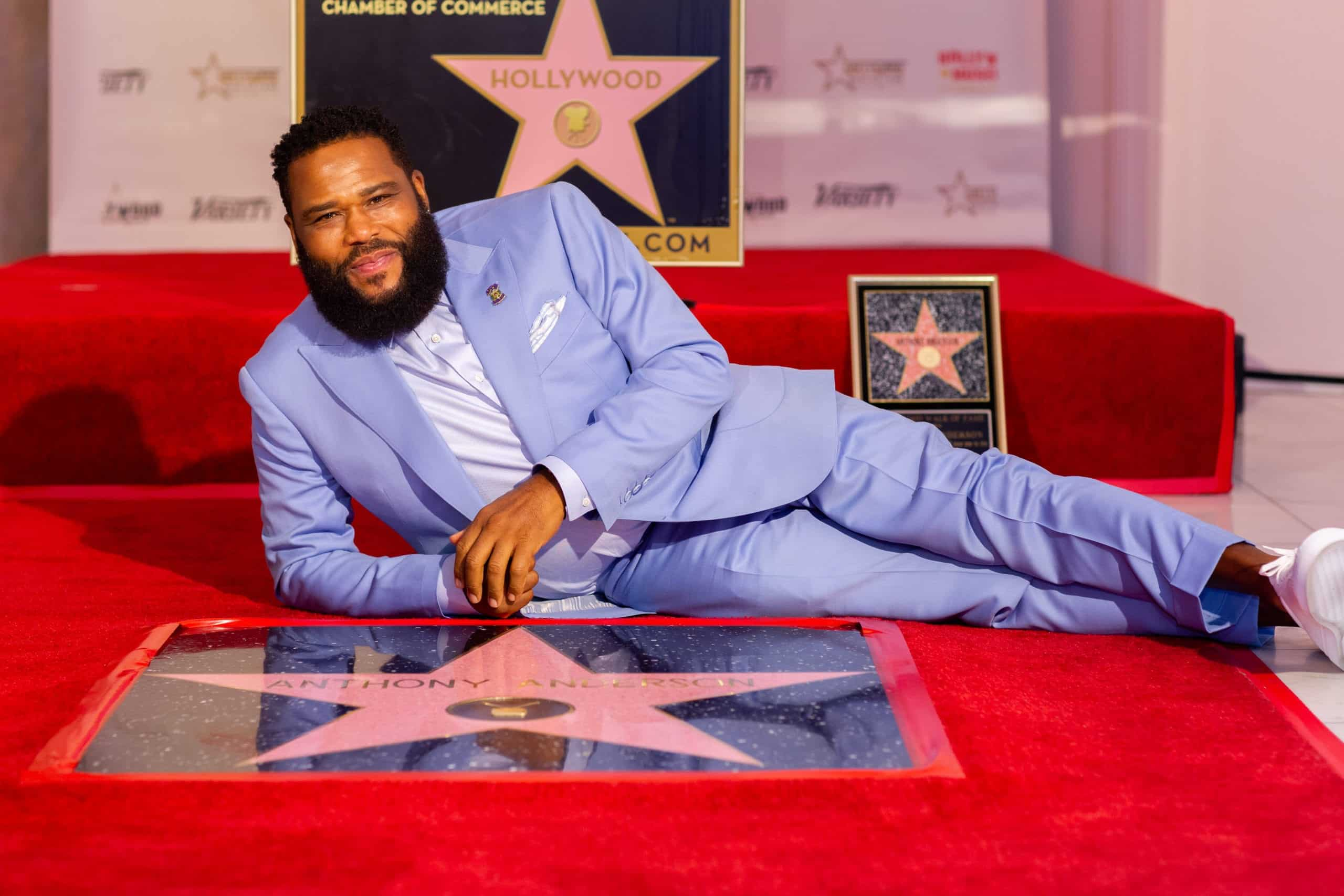 ACTOR ANTHONY ANDERSON CELEBRATES UPCOMING 50TH BIRTHDAY WITH THE DEDICATION OF THE 2,691ST STAR ON THE HOLLYWOOD WALK OF FAME